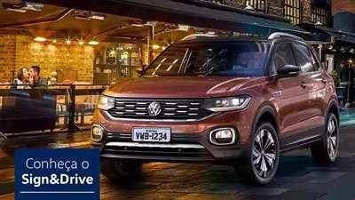 Volkswagen t-cross POR ASSINATURA
