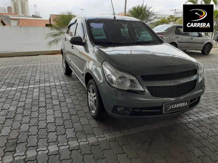 Chevrolet Agile 1.4 MPFI LTZ 8V 4P MANUAL