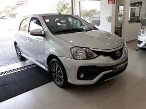 Toyota Etios 1.5 PLATINUM SEDAN 16V 4P AUTOMATICO