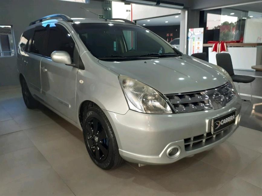 Nissan Grand Livina 1.8 SL 16V 4P AUTOMATICO
